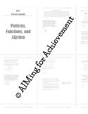 OGT Prep - Algebra Booklet