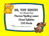 Orton-Gillingham Based Lesson Closed Syllable PROMETHEAN F