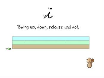 OGYouKnow Cursive Instruction Orton-Gillingham Based  PROMETHEAN Flip Chart