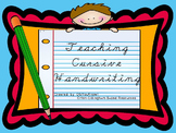 Orton-Gillingham Based Cursive Handwriting Instruction PRO