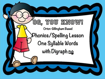 OGYouKnow Orton-Gillingham Based Lesson Digraph ng  PROMET