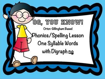 Orton-Gillingham Based Lesson Digraph ng  PROMETHEAN Flip Chart