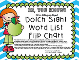 OGYouKnow!  Dolch Sight Words PROMETHEAN Flip Chart