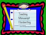 Orton- Gillingham Based Manuscript HandwritingPROMETHEAN Flip Chart