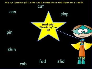 "Orton-Gillingham Based Lesson ""Magic e"" PROMETHEAN Flip Chart"