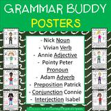 Grammar (Parts of Speech) Buddy Posters
