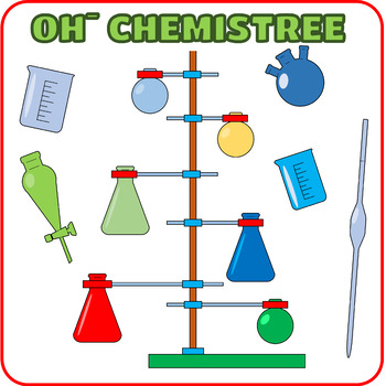 OH, CHEMISTREE Christmas Coloring Page