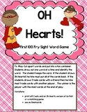 OH Heart! ~ First 100 Fry words sight word game