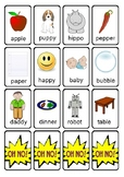 OH NO! Articulation Game Cards for Early Developing Sounds