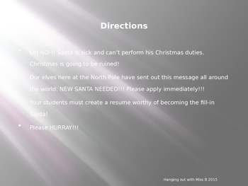 OH NO!!! Santa needs your help!