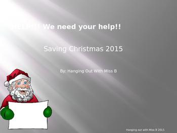 OH NO!!! Santa needs your help!