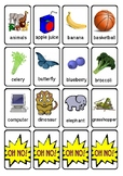 OH NO! Speech & Articulation Game Cards Targeting 3 & 4 MULTISYLLABLE Words