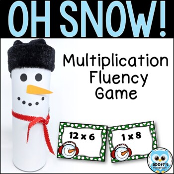OH SNOW! Multiplication Game