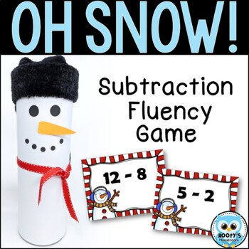 OH SNOW! Subtraction Game