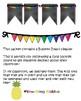 OHANA class community mindset multi color rainbow pennant banner