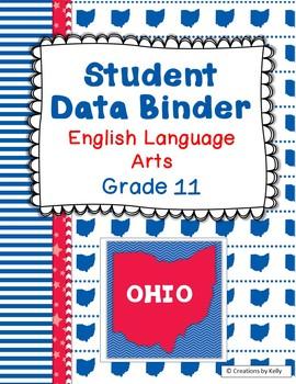 OHIO Binder Covers for 11th Grade ELA (Teacher & Student)