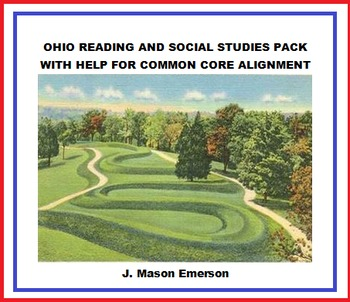 OHIO READING AND SOCIAL STUDIES PACK WITH HELP FOR COMMON CORE ALIGNMENT