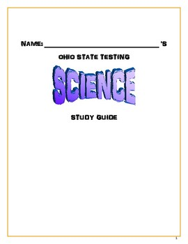 Ohio state test prep teaching resources teachers pay teachers ohio state testing study guide 5th grade science fandeluxe Choice Image