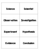 OHIO Science Fusion Grade 4 Unit 1 - Lesson 1 Vocabulary Cards
