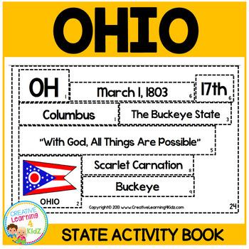 OHIO State Activity Book