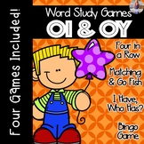 OI OY Diphthong [[Word Family GAMES!]]