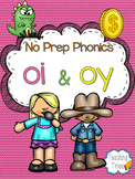 OI OY No Prep Phonics Pack