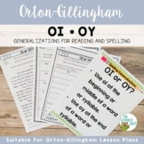 OI and OY Orton-Gillingham Spelling Generalizations | Virt