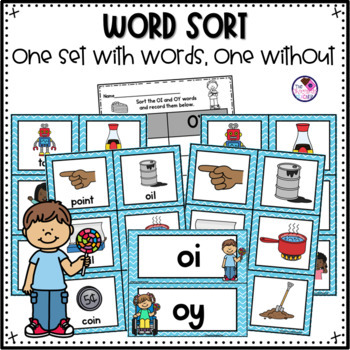 OI & OY Phonics Activities