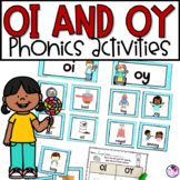 OI & OY Phonics Worksheets and Activities