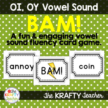 Vowel Sounds Practice Game, OI, OY