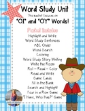 OI OY Word Study: Activities, Games, Worksheets