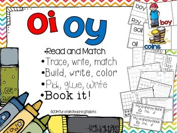 OI and OY - 5 Interactive Activities