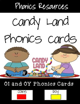 OI and OY Candy Land Cards