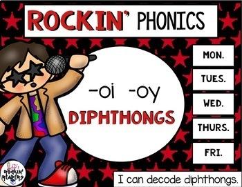 OI and OY (Diphthongs)  Rockin' Phonics