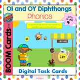 OI and OY Diphthongs with Sound Boom Cards!