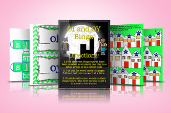 OI and OY Games and Activities