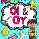 OI OY Worksheets & Activities {NO PREP!}