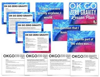 OK GO Zero Gravity Music & Science Lesson Plan