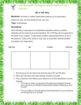 Leave No Trace - Outdoor Education - For Students TK-12 (Activity)