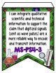 OKLAHOMA SCIENCE STANDARDS BANNERS, 8th GRADE, SCIENCE INSTRUMENTS