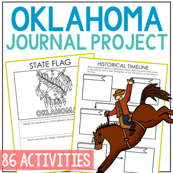 OKLAHOMA History Project, Differentiated State Research Journal {EDITABLE}