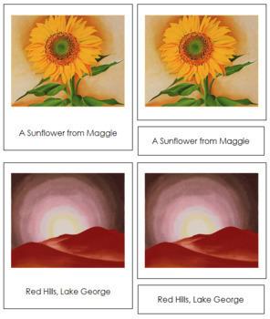 O'Keeffe (Georgia) 3-Part Art Cards