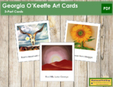 O'Keeffe (Georgia) 3-Part Art Cards
