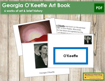 O'Keeffe (Georgia) Art Book - Color Border