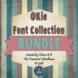 OKie Font Collection BUNDLE