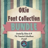 OKie Font Collection BUNDLE