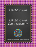 OKie Fonts - Chub and Chub Calligraphy