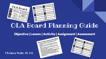 OLA Board: Lesson Planning Guide