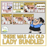 OLD LADY SWALLOWED A ... Lucille Colandro Book Bundle
