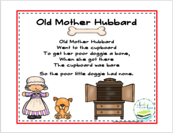 Image result for mother hubbard nursery rhyme